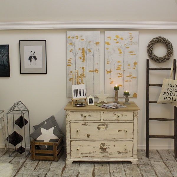 massive alte kommode im shabby look zimmerei niemann. Black Bedroom Furniture Sets. Home Design Ideas